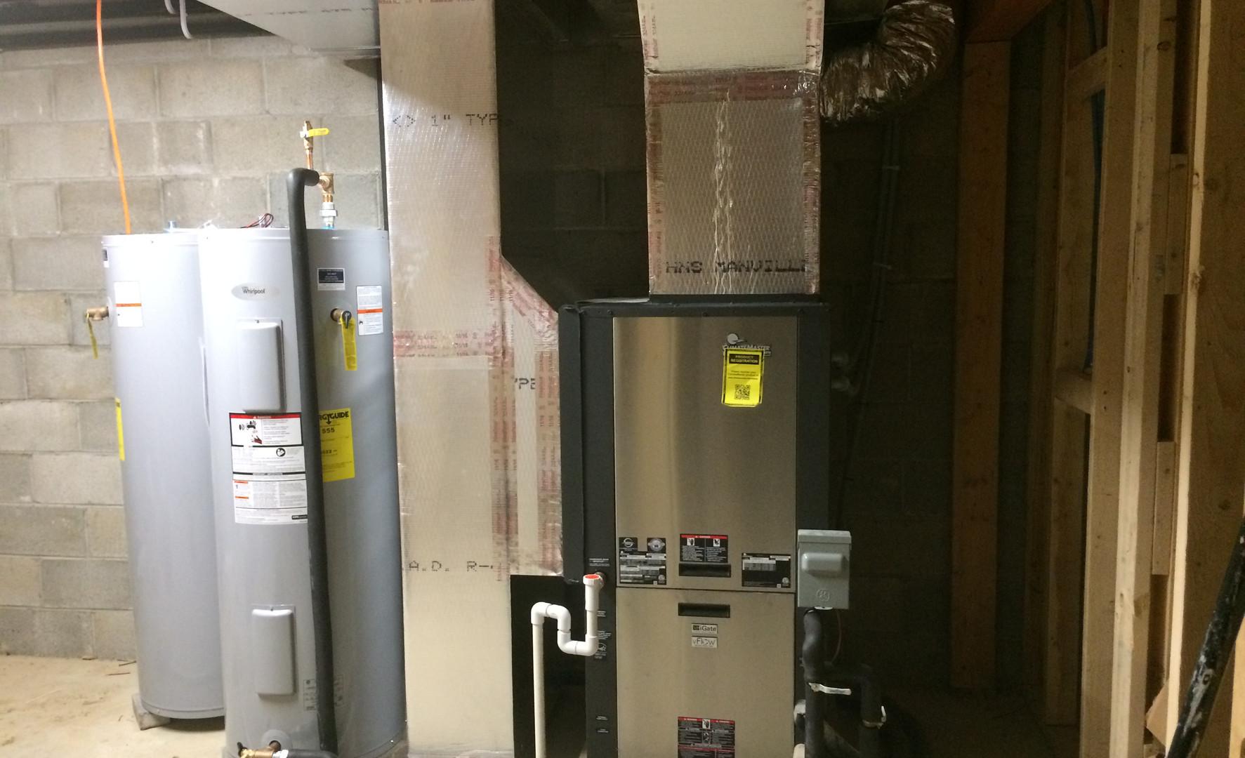 ClimateMaster geothermal installation