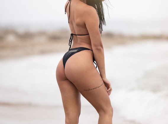Selina at Beach