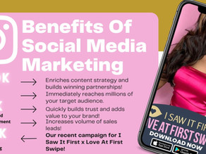 What are the benefits of Social Media Influencer Marketing!