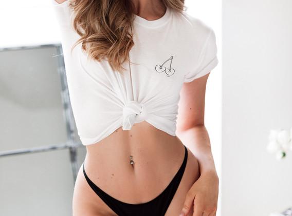 Elise White Shirt