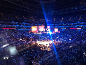 When will large professional and small-hall boxing events return in the UK?