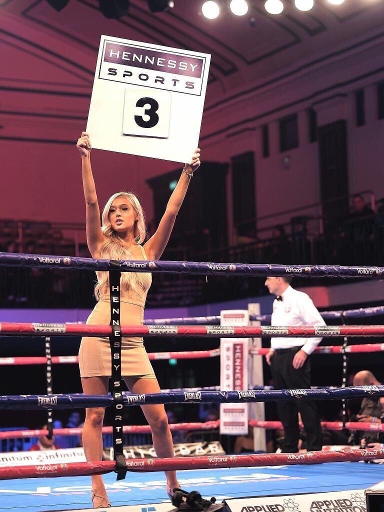 Ring Girl Boxing MMA