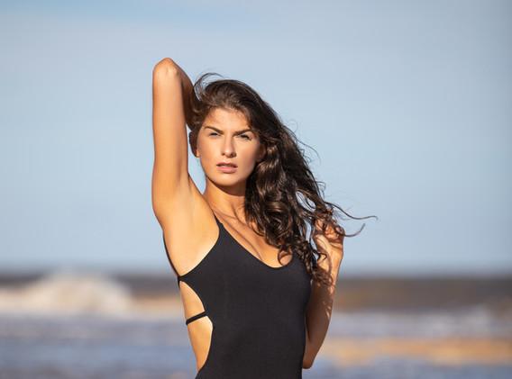 Alexia Black Bikini