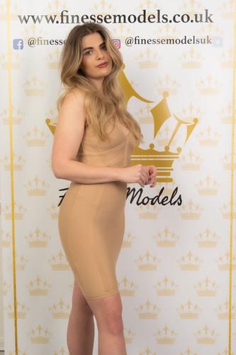 Hospitality Event Staff Model Blonde