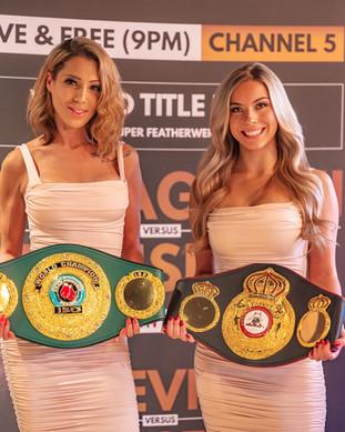ring girls boxin g mma