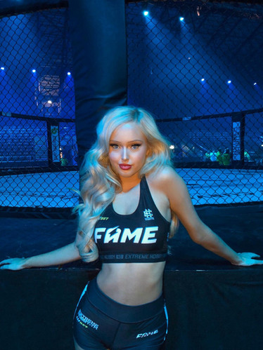 MMA Cage girls