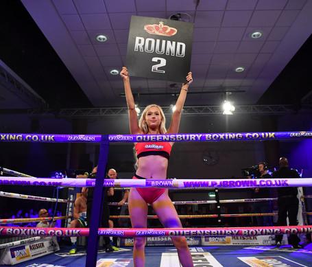 boxing mma ring girl