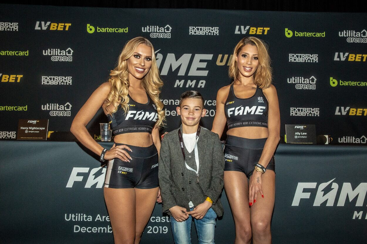 MMA UK Ring Girls