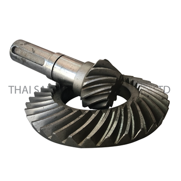 Spiral Bevel gear and shaft