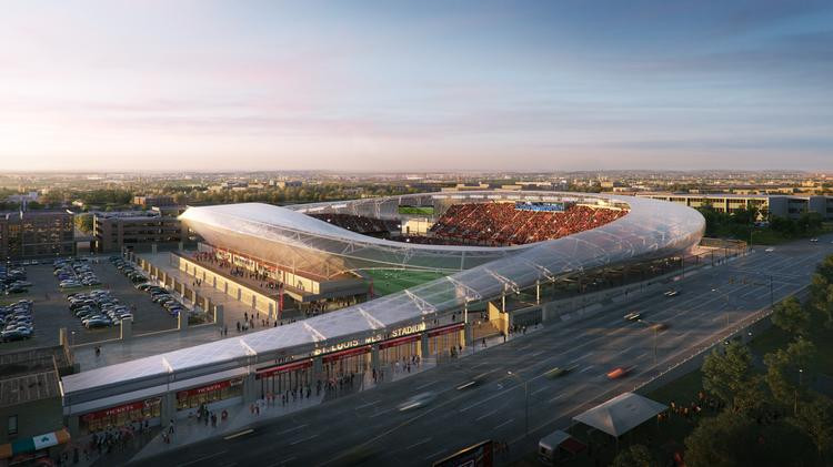 Proposed MLS stadium