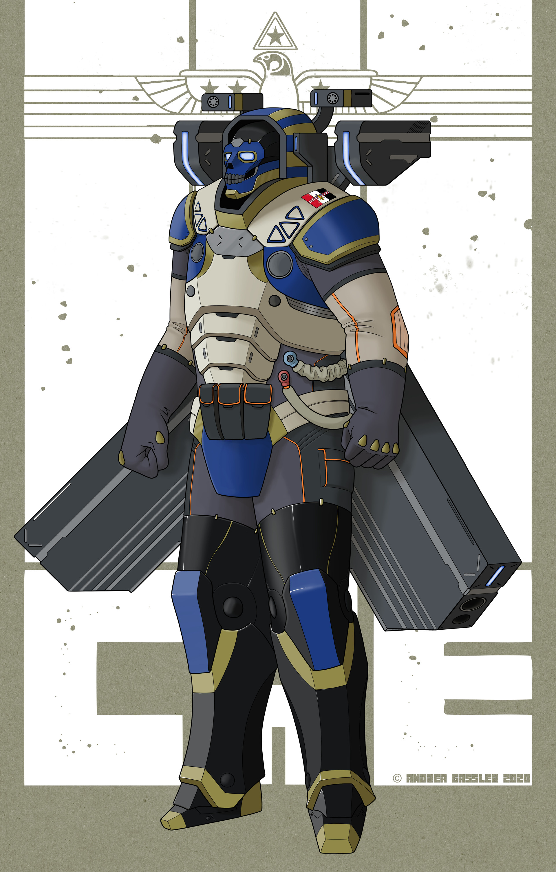 Conglomerate Arcology Enforcer