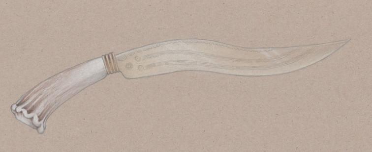 Bronze knife reconstruction