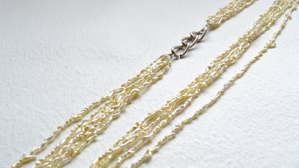 Pearl neecklace 5strand