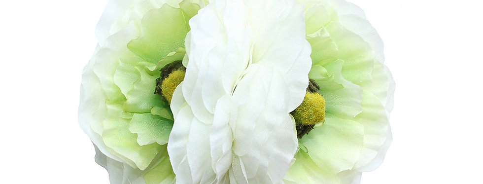 MAY Double White Ranunculus Autumn Hair Flower