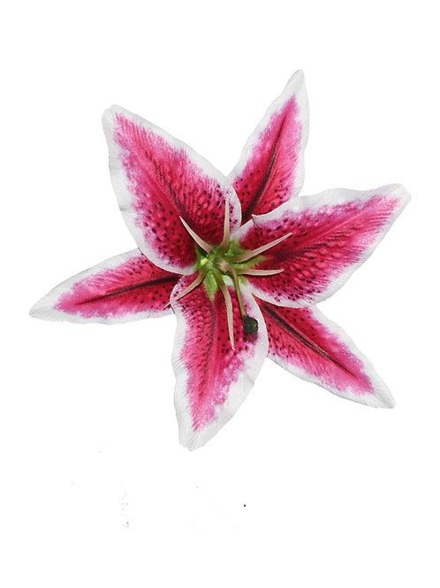 QUEENIE Stargazer Lily Hair Flower