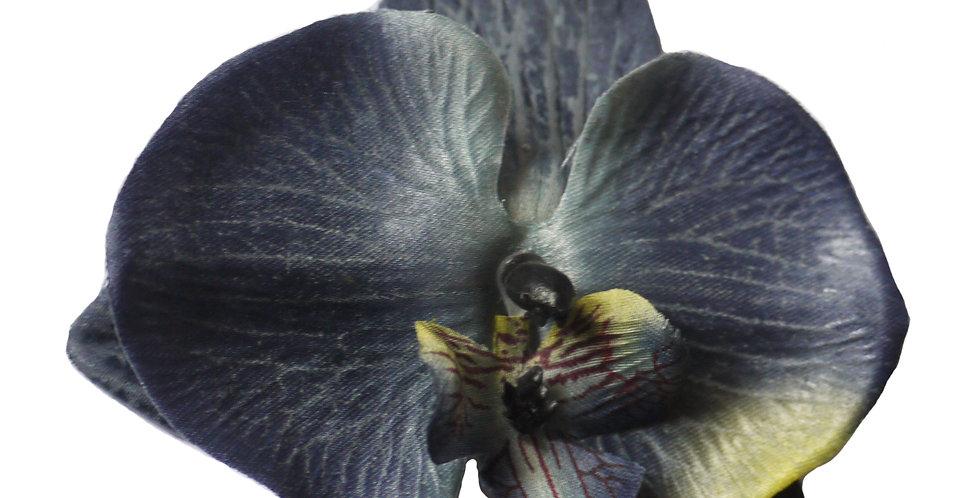 Gene Grey Orchid Hair Flower