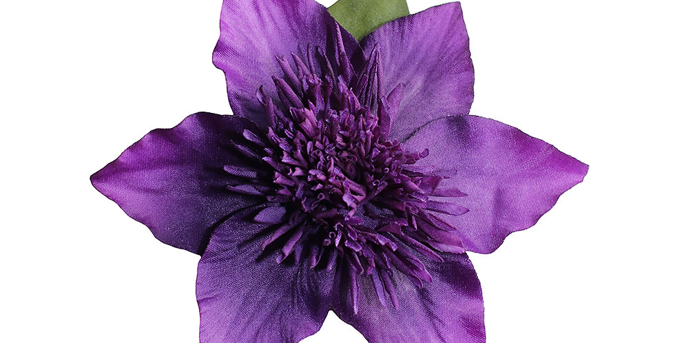 JULIET Purple Clematis Hair Flower
