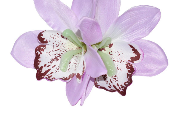 GIGI Double Orchid Tropical Hair Flower -Lilac