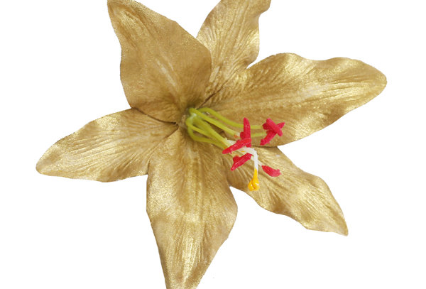 Paloma Special Edition Gold Lily Hair Flower
