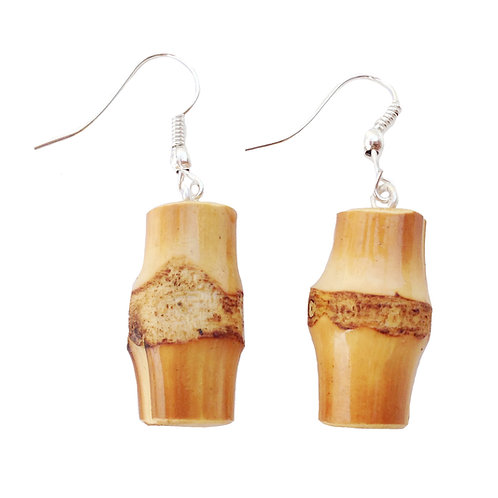 Tiki Peg Bamboo Earrings