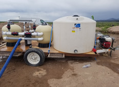 Farmlife Made Watering System Trailer
