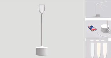 WHITE EYES LED LAMP