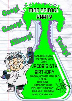 Mad Scientist Birthday
