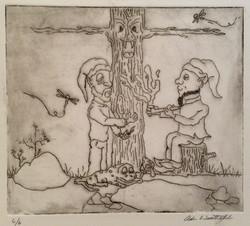 Forest Elves Print