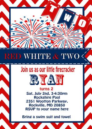 Fireworks Invite