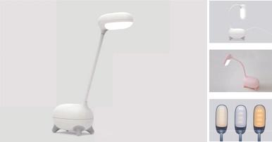 WHITE EYES LED LAMP 02