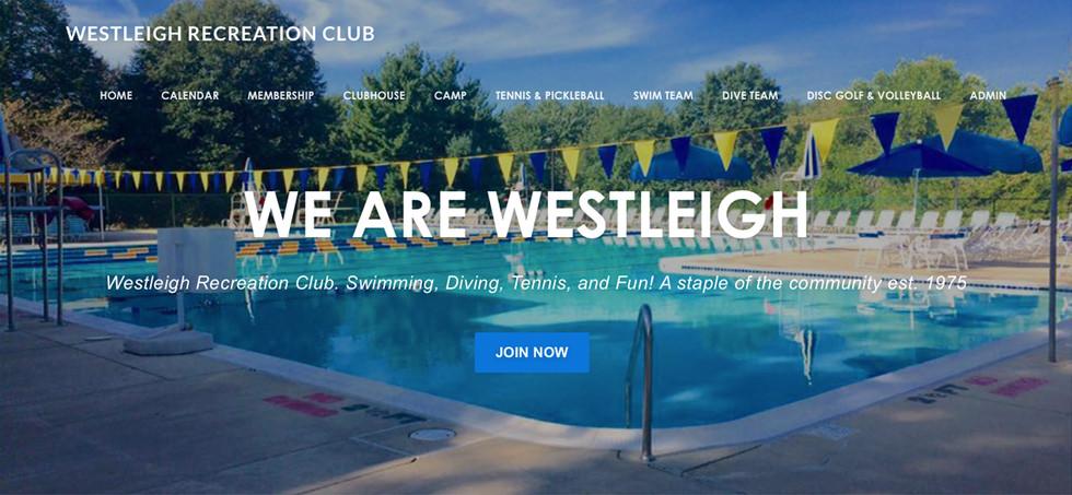 Westleigh Recreation Club Website