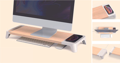 SCREEN WIRELESS CHARGER STATION