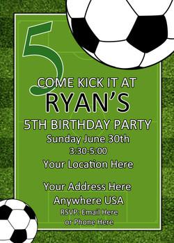 Soccer Invite