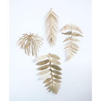 Metal Wall Leaf
