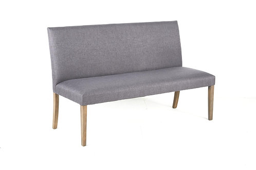 Megan Long Dining Bench Grey
