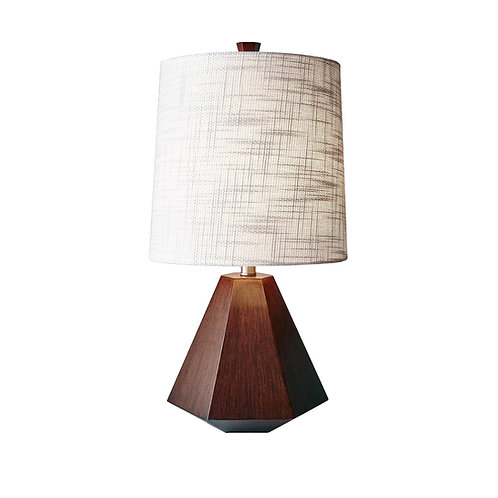 Grayson Table Lamp -Walnut