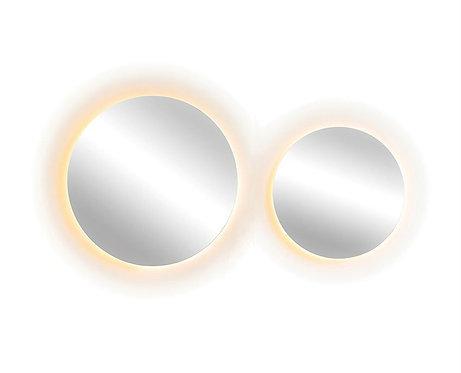Round Wall Mirror w/Backlight