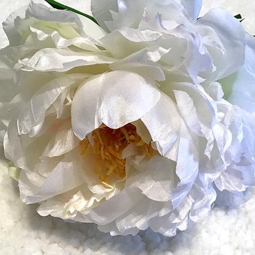 Peony Stem - White