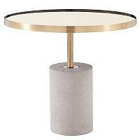 Andrea End Table - Concrete