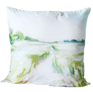 24in Water Color Pillow