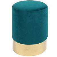 Oliver Fabric Round Ottoman