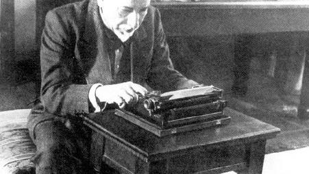 Pirandello, il Nobel e quella macchina per scrivere