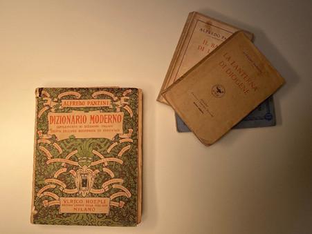 Panzini e quel Dizionario profetico scritto negli anni Venti