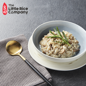 "Mushroom & Brown Rice ""Risotto"""