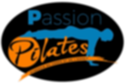 fond noirLOGO Passion Pilates 2 couleurs