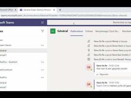 Vous cherchez un document dans une équipe spécifique dans Microsoft Teams ?