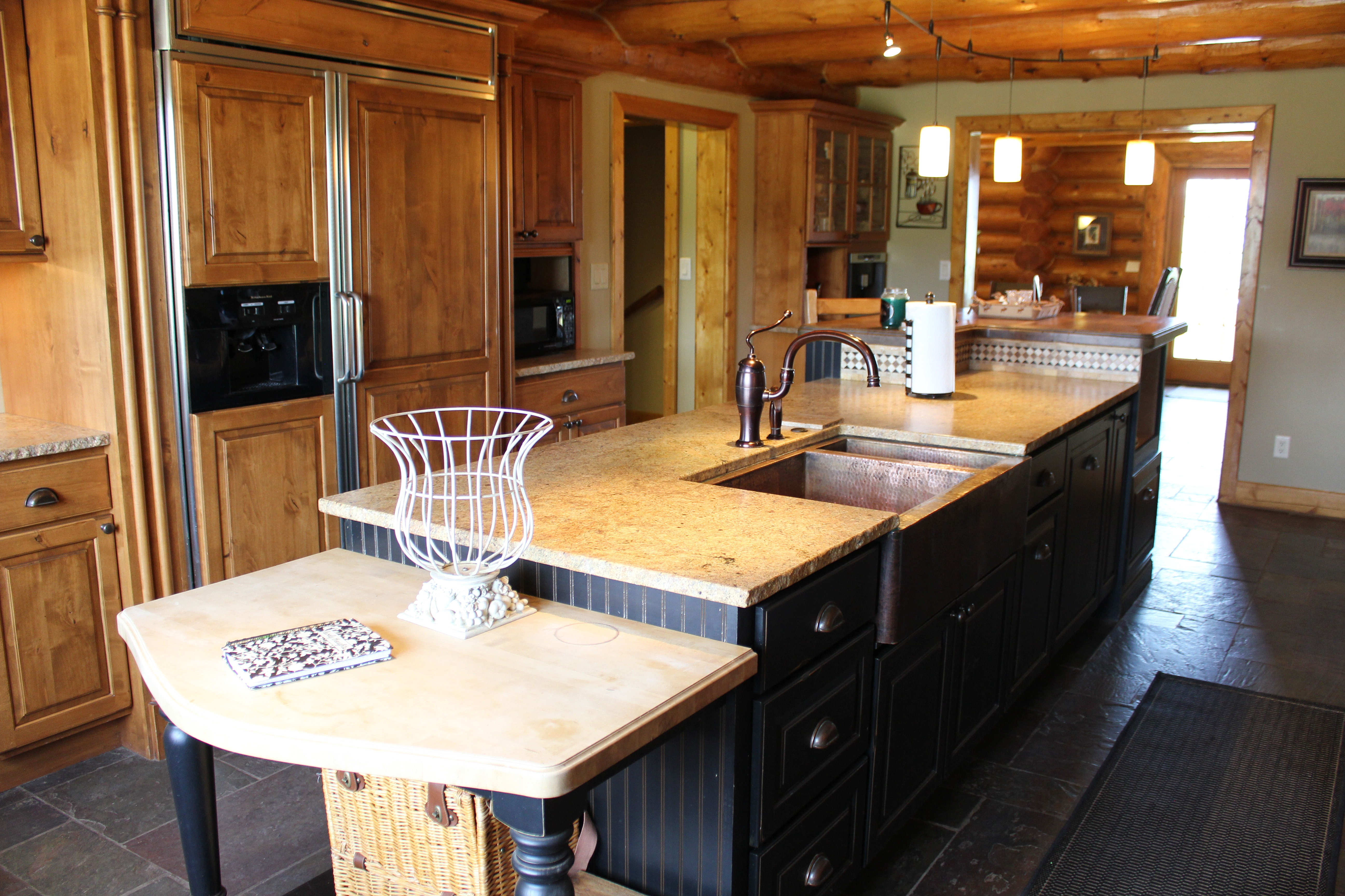 Gourmet Kitchen The Lodge At Crestview Ranch Colorado Mountain Wedding Packages