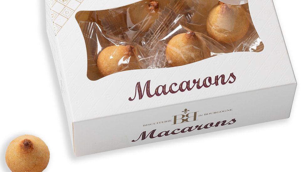 Mini Macarons aux Caramel Beurre salé