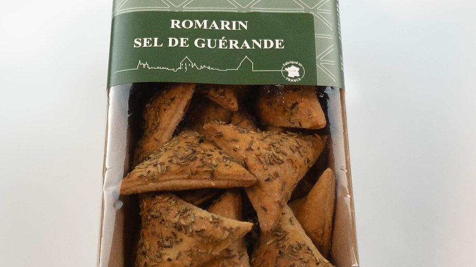 Biscuits Salé feuilletés au Romarin