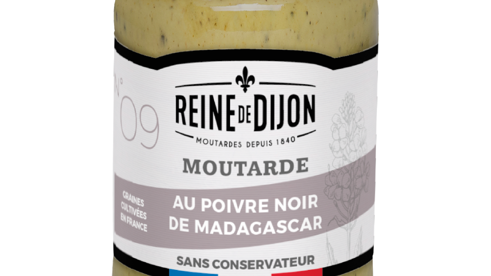 Moutarde au Poivre de Madagascar